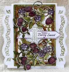 my heart on paper: You're Berry Sweet - Heartfelt Creations