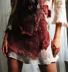 Felted dress by Vilte Kazlauskaite