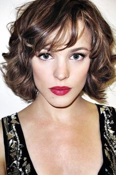 I feel like this is how my hair would behave if I had bangs. Not sure If I could pull it off but still want to try