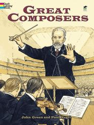 Composer Coloring Sheets