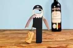 The sommelier's favourite 'Waiter's Friend' corkscrew, pull corks like a professional. This peg-legged pirate corkscrew has an easy-open lever, foil-cutter and a beer bottle opener. Cheap Christmas Gifts, Xmas Gifts, Christmas Ideas, Little Presents, Beer Bottle Opener, Beer Bottles, Cool Bottle Openers, In Vino Veritas, Kitchen Gifts