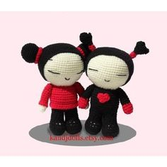 Help! searching for a certain amigurumi pattern [Pucca] - We Love Amigurumi