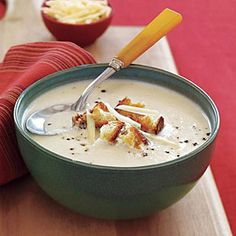 This creamy Cauliflower-Cheese Soup will have your family yearing for more. This soup is simple and easy, and just right on those cold nights. Expect this could be made WW friendly...