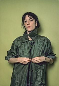 Patti Smith shot by Lynn Goldsmith 1976