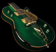 Gretsch Custom Shop Masterbuilt Penguin Electric Guitar Cadillac Green