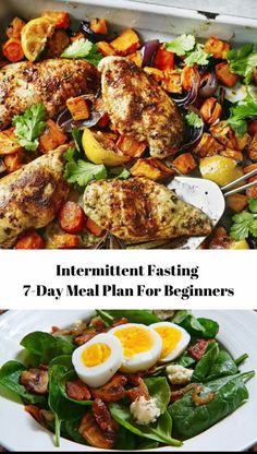 A complete intermittent fasting meal plan and menu for beginners. Discover how amazing intermittent fasting can be for health and weight loss. Weight Loss Meals, Diet Food To Lose Weight, Meal Plans To Lose Weight, Healthy Weight, 7 Day Meal Plan, Keto Meal Plan, Diet Meal Plans, Meal Prep, Healthy Weekly Meal Plan