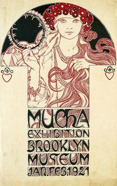 Artwork by Alphonse Mucha-1921