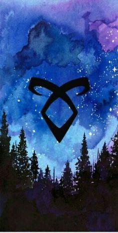 Disney Wallpaper, Galaxy Wallpaper, Iphone Wallpaper, Shadowhunters Malec, Shadowhunters The Mortal Instruments, Clace, Shadow Hunter Tattoo, Mortal Instruments Wallpaper, Clary Y Jace