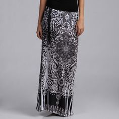 @Overstock.com - Tabeez Women's Plus Size Gypsy Print Maxi Skirt - Go tribal in this breathable maxi skirt from Tabeez featuring a stylish gypsy inspired print. The comfortable material is made with just a touch of spandex to hug your curves and keep you feeling sexy.  http://www.overstock.com/Clothing-Shoes/Tabeez-Womens-Plus-Size-Gypsy-Print-Maxi-Skirt/7824552/product.html?CID=214117 $52.99