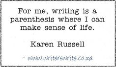 Quotable - Karen Russell - Writers Write