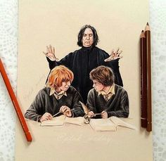 Zeichnungen Einfach - Watching Deadly Hallows + Harry says luminous = my kindle li. Harry Potter 6, Fanart Harry Potter, Harry Potter Drawings Easy, Harry Potter Universal, Desenhos Harry Potter, Severus Rogue, Dibujos Cute, Harry Potter Collection, Fantastic Beasts