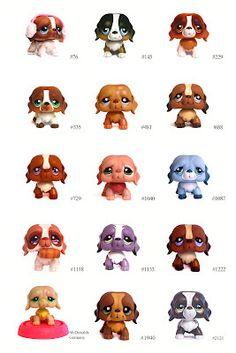 Littlest Pet Shop: Dogs: St Bernard - ID Reference Guide  #eBay