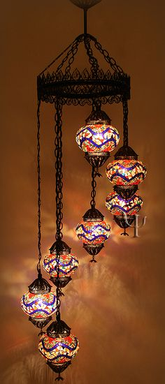 Turkish lamps pretty pinteres turkish mosaic lamps ottoman chandeliers mosaic hanging lamps aloadofball Image collections