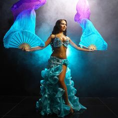 """157 curtidas, 3 comentários - BELLYDANCECOSTUMES (@sultana_dressyourdance) no Instagram: """" My """"Blue dream"""" is available for sale All questions Direct/WhatsApp/Viber ➡️ +7 912 22…"""""""