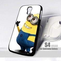 Despicable Me Minions Apple Design for Samsung Galaxy S4