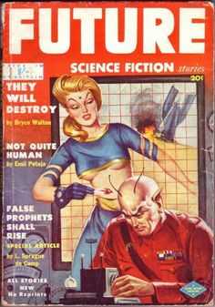 Future Science Fiction (January 1952) by Milton Luros | Flickr - Photo Sharing!