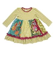 Baby By Persnickety Clothing - Emerald Pine Penelope Dress in Multi
