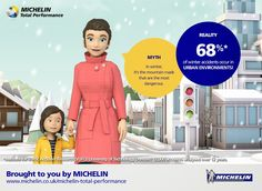 Truths and Myths About Winter Driving: Michelin Road Usage Lab Primer for Busy Mums Winter Road, Lab, Campaign, Urban, Business, Extreme Weather, Weather Conditions, Tech News, Truths