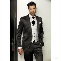 New Arrival Black Wedding Suits for Men Celebrity Men Tuxedos ...