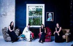 Hair and make up for bride and bridesmaids by @scissorsofoz #scissorsofoz Quirky bridal team