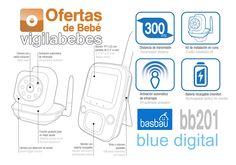 basbau bb201 blue digital vigilabebes con camara baratos antiguo rimax precios
