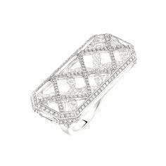 Chanel Café Society Tuxedo ring