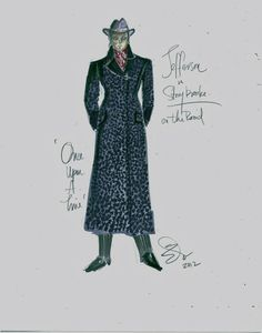 Jefferson - Final Design Once Upon a Time: Nominated for 2012 Emmy® for Outstanding Costume Design: by Costume Designer, Eduardo Castro and Assistant Costume Designer, Monique McRae.