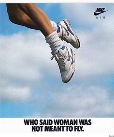 """Nike """"Air Force Women's Basketball Shoe Print Advertisement - The basketball and sportswear culture had a huge influence on footwear during the Branding was also a big trend. Bedroom Wall Collage, Photo Wall Collage, Picture Wall, Room Posters, Poster Wall, Poster Prints, Aesthetic Collage, Aesthetic Vintage, Flugblatt Design"""
