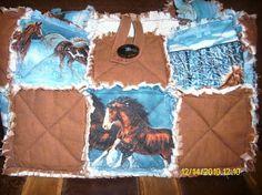 Horse rag bag