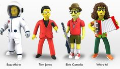 Weird Al, Elvis Costello, Aerosmith and More to Get Simpsons Action Figures