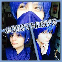 ...... @greetdraws @greetdraws @greetdraws ...... . BEST KAITO  #anime #manga #cosplay #animecosplay #japanesecosplay #cool #cute #pretty #greetdraws #kaitoshion #vocaloidkaito #kaitocosplay #vocaloid #vocaloidcosplay #music #song #icecream #kaito #scarf
