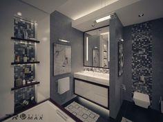 modern apartment 1 bathroom 2
