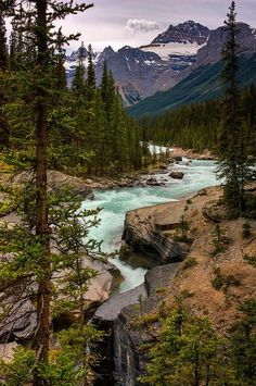 Mistaya River and Canyon - Banff National Park, Alberta, Canada - places I want to go - Camping Nature Parc National De Banff, Banff National Parks, Places To Travel, Places To See, Beautiful World, Beautiful Places, Stunningly Beautiful, Absolutely Gorgeous, Landscape Photography