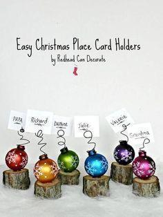 leuk idee voor op  de gedekte kersttafel  , deze naam kaartjes  als kerst decoratie voor de gasten ....gedeeld door marjolein 131