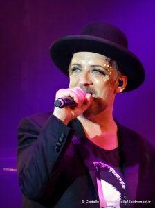 - PHOTOS DE BOY GEORGE en concert au FESTIVAL MONTEREAU CONFLUENCES le 7 juin 2014