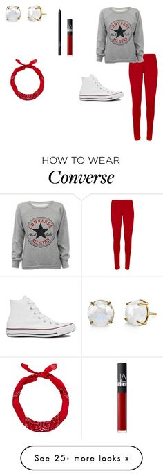 """""""Converse"""" by wendyyydarlingg on Polyvore featuring Converse, NARS Cosmetics, WearAll, women's clothing, women, female, woman, misses and juniors"""