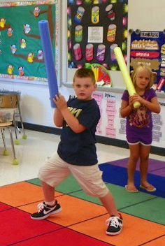 Mrs. King's Music Room: Steady Beat Swords - I would call them lightsabers since she uses them with Star Wars music