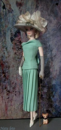 https://flic.kr/p/tdHbtF | Silkstone Barbie Doll Mermaid Gown