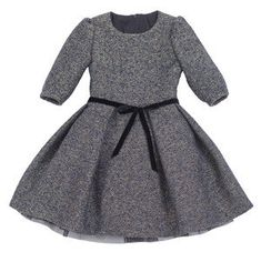 Girl's Dress with Full Pleated Skirt and Underskirt - Kids' Digital Sewing Patterns Kids Dress Clothes, Little Girl Dresses, Girls Dresses, Dress Neck Designs, Stylish Dress Designs, Baby Girl Birthday Dress, Baby Dress, Fashion Kids, Winter Mode Outfits