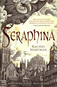 Review: SERAPHINA by Rachel Hartman | read by Mandy Williams and Justine Eyre | rating: 2.5 out of 5 | http://www.cherrydragoon.com/2013/09/review-seraphina.html