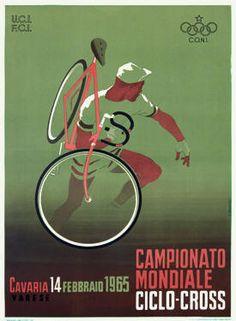 1965 Italian Ciclo-Cross Poster