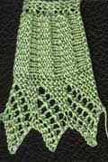 A lot of free patterns for knit edgings and stitches of various types. Also links to other pages of same.