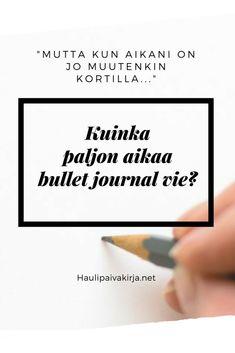 Kuten bullet journalisi, myös siihen kuluva aika on totta kai hyvin yksilöllinen käsite. Uskon kuitenkin, että moni pelkää kokeilemista koska kuvittelee siihen uppoavan liian paljon arvokasta aikaa, joka on jo muutenkin kortilla. #bulletjournal #bujo #bulletjournalsuomi #aikaa #ajanhallinta #hyvinvointi