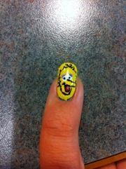 big bird Nail Blog, Big Bird, Character Design, Nails, Finger Nails, Ongles, Nail, Nail Manicure