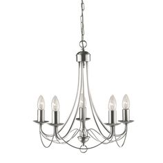 Searchlight Maypole 5 Light Candle-Style Chandelier & Reviews | Wayfair.co.uk