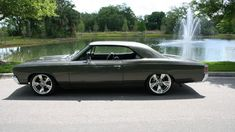 1967 CHEVROLET CHEVELLE PRO TOURING 383/450 HP, 4-Speed