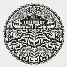 scherenschnitt - Google Search Kirigami, Cut Out Art, Paper Art, Paper Crafts, Paper Cut Design, Silhouette Cameo Tutorials, Scandinavian Folk Art, Paper News, Paper Cutting
