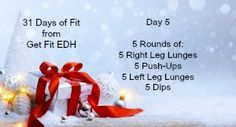 Stay FIT with Get Fit EDH!