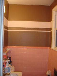 pink and brown tile bathroom - Google Search | Pink bathroom ... Pink And Brown Bathroom on pink and brown polka dots, pink and brown appliances, pink and brown crib, pink bathroom sink, pink and brown salon, pink and brown storage, pink bathroom paint color ideas, pink and brown jewelry, pink and brown paint, pink bathroom decorating ideas, pink tile 50s bathroom, pink and brown photography, pink and brown bedding, pink bathroom wall decor, retro pink bathroom, pink and brown sofa, pink and brown towels, pink bathroom makeover, vintage 50s pink bathroom, pink and brown decorating ideas,