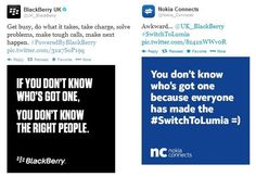Nokia Makes Snide Remark About BlackBerry On Twitter
